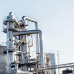 Imatge de refineria de petroli